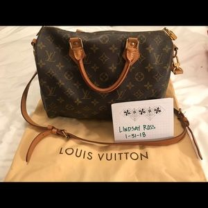 AUTHENTIC Speedy 30 Bandouliere